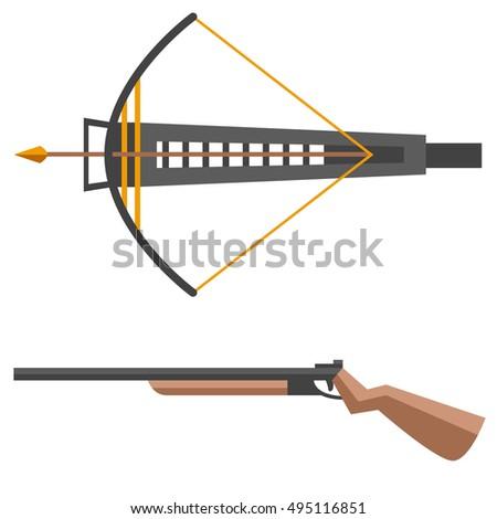 Crossbow Vector