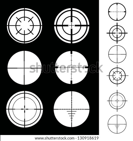 Crosshair - stock vector