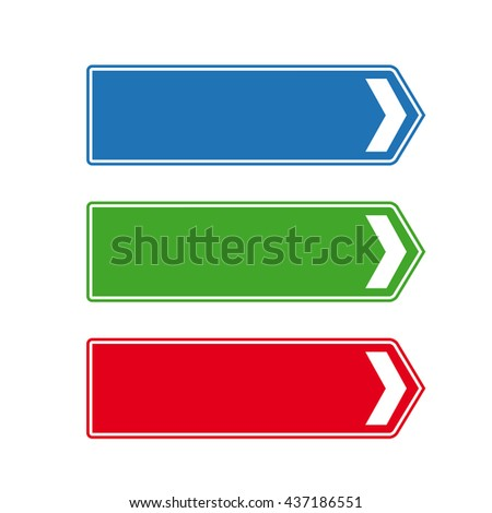 Crossroad sign vector - stock vector