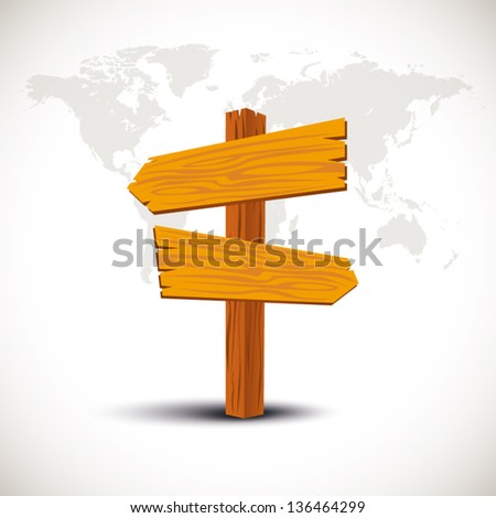Crossroads International Sign - stock vector