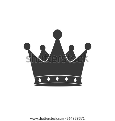 Crown icon. Crown icon vector. Crown icon illustration. Crown icon web. Crown icon Eps10. Crown icon image. Crown icon logo. Crown icon sign. Crown icon art. Crown icon flat. Crown icon design. - stock vector