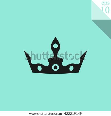 Crown Icon. Crown Icon Vector. Crown Icon Sign. Crown Icon Picture. Crown Icon Image. Crown Icon Illustration. Crown Icon JPEG. Crown EPS10. Crown Logo. Crown Button. Crown Symbol. King hat symbol. - stock vector
