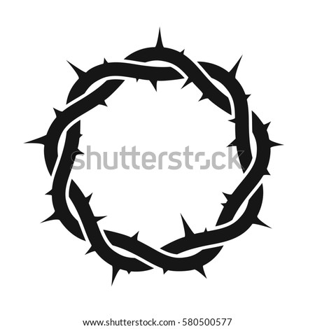 Crown Thorns Stock Vector 580500577