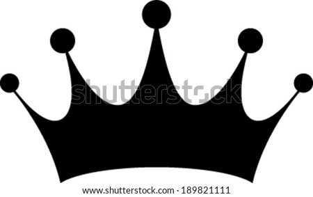 Crown vector illustration - stock vector