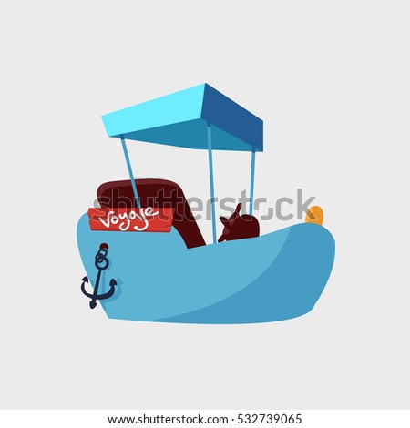 Cruise liner ship icon Sea Ocean travel vacation concept