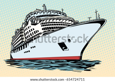 Ocean Liner Stock Images RoyaltyFree Images Vectors Shutterstock - Where do old cruise ships go