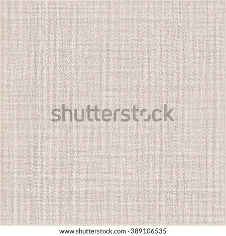 Crumpled fabric texture. Beige wrinkled background. Abstract vector. - stock vector
