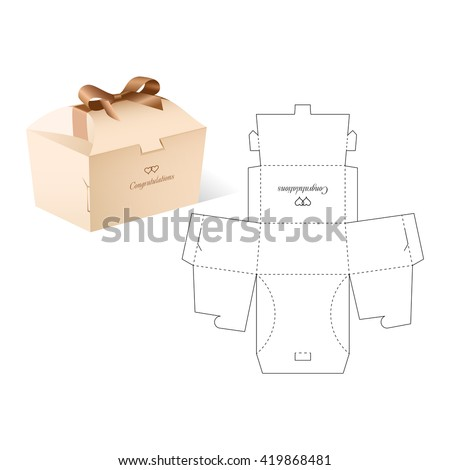 Box Template Stock Images RoyaltyFree Images  Vectors