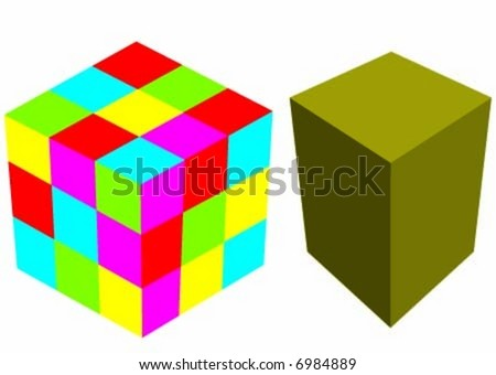 cube game and the block
