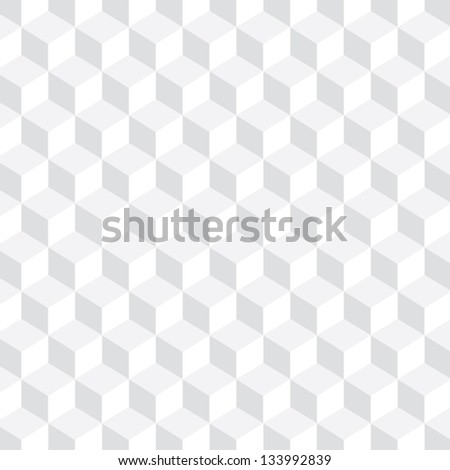 Cube Pattern - Bright - stock vector