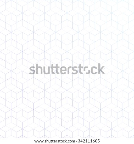 Cubic  Pattern. Light background. Grid Pattern. Abstract colorful Background. Isometric background. Holidays background. Geometric pattern. Geometric Texture. Vector regular Texture. Pastel colors - stock vector