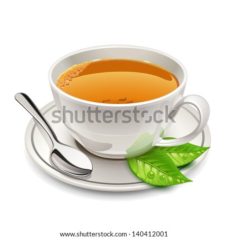 Cup of tea - stock vector