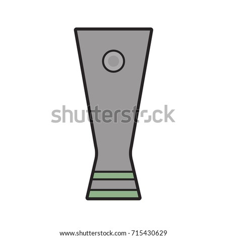 Championship Cup Stock Vector 715609660