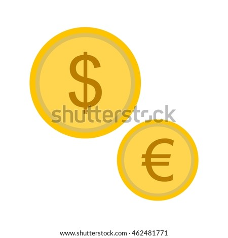 Currencies Flat Icon
