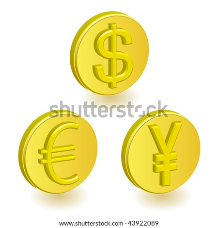 Currency - stock vector