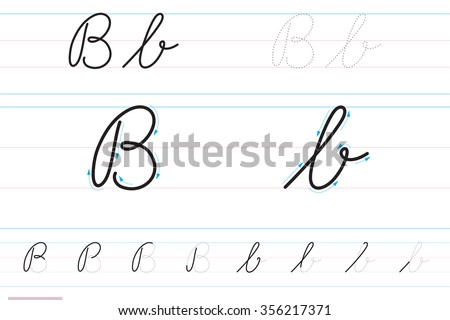 how to write a cursive b Kidzone handwriting tracer pages cursive writing worksheets click on the image below to see it in its own window (close that window to return to this screen) or.