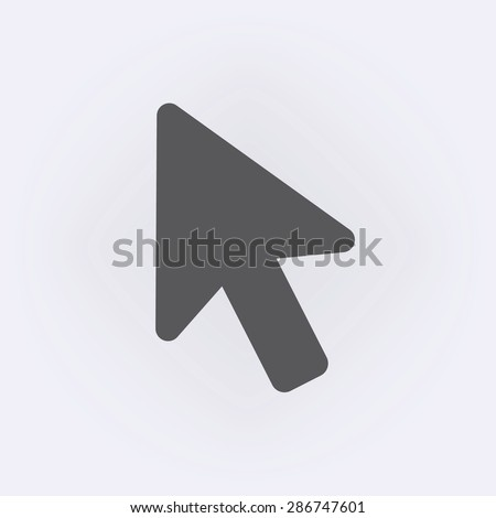Cursor icon - stock vector
