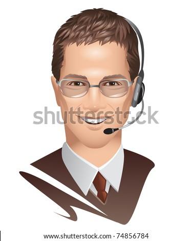 Customer Service - stock vector