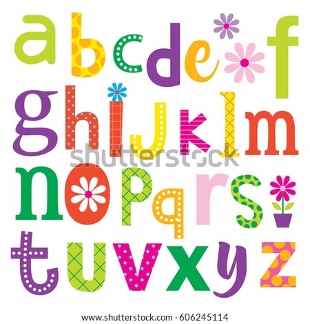 Cute alphabet sets colorful decorative design stock vector 2018 cute alphabet sets colorful decorative design stock vector 2018 606245114 shutterstock altavistaventures Images