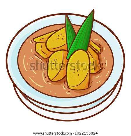 Cool Indonesian Eid Al-Fitr Decorations - stock-vector-cute-and-funny-orange-banana-compote-or-kolak-pisang-in-bahasa-indonesia-for-ramadan-and-eid-al-1022135824  Pic_92914 .jpg