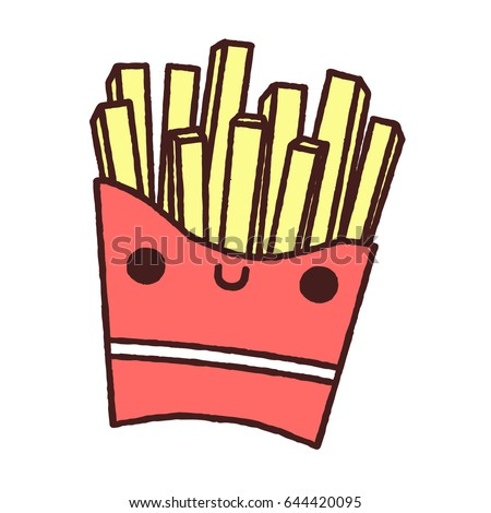 Animated french fries - photo#52