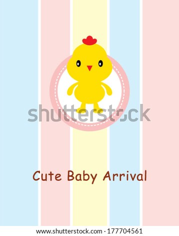 cute baby chicken arrival