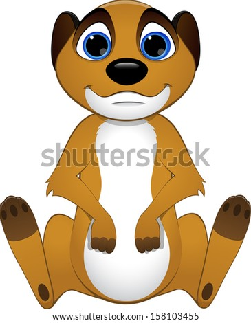 Meerkat Cartoon Stock Images, Royalty-Free Images & Vectors ...