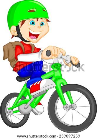 Bicycle Cartoon...