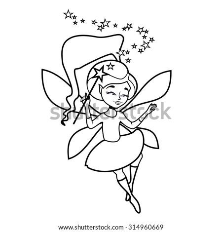 Princess Wand Drawing