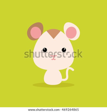 Cute Cartoon Wild hamster