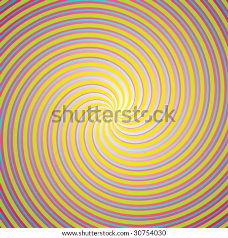 Cute colorful twirled background