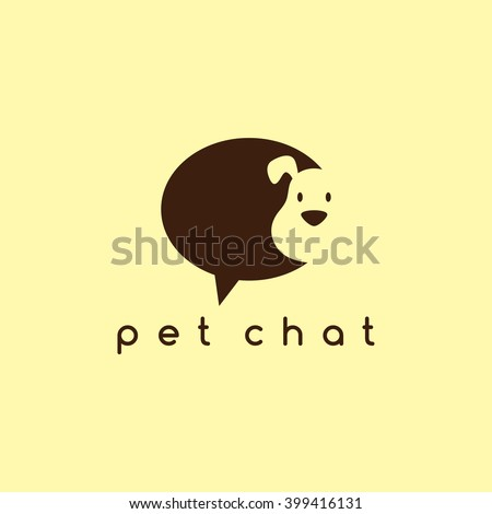 cute dog - puppy - stock vector