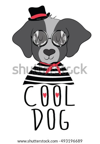 cute dog vector,animal wallpaper,T-shirt Print,i love you,Valentine's Day,animal print,cartoon character,For apparel or other uses,in vector.