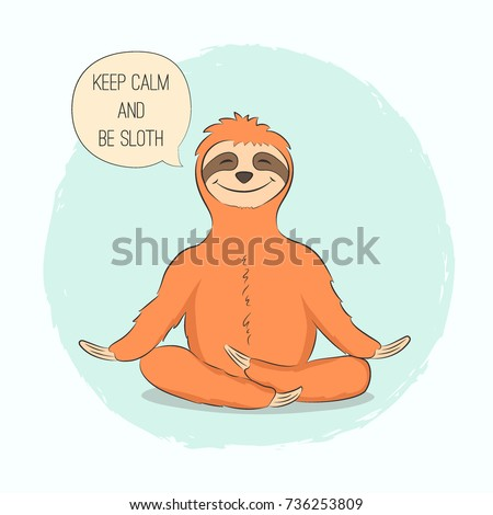 sloth stock images royaltyfree images  vectors