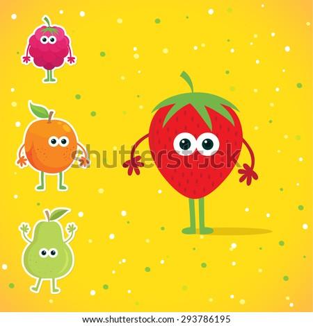 Amazon.com: iBloom Newest Creation Jumbo Red Strawberry Ultra Soft ...