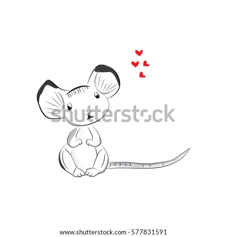 cute little mouse