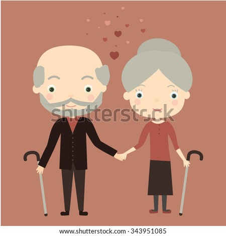 http://thumb7.shutterstock.com/display_pic_with_logo/3737936/343951085/stock-vector-cute-old-couple-in-love-vector-illustration-343951085.jpg