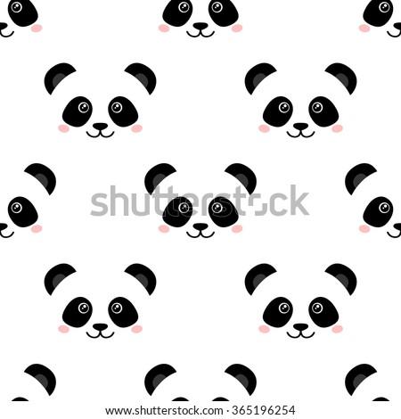 Cute Panda Face Pictures Clip Art, Vector Images &- Illustrations ...