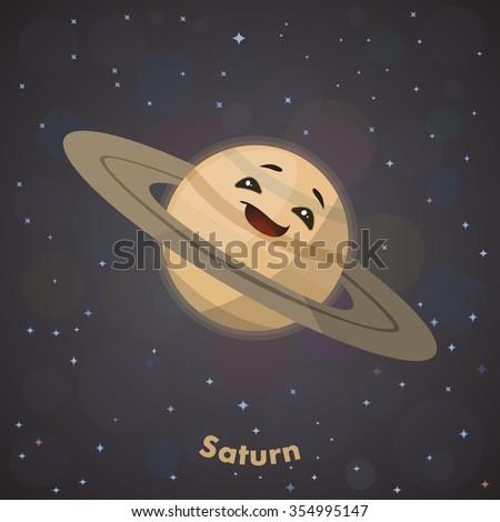 planet saturn cute - photo #2