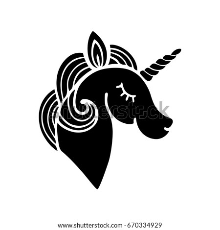 Unicorn Silhouette Sto...