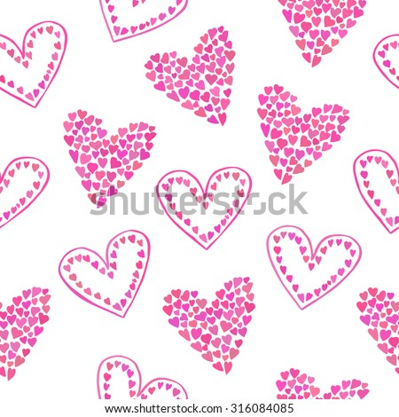Girly Pattern Stock Images Royalty Free Vectors