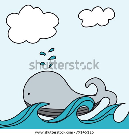 Displaying (20) Gallery Images For Baby Whale Cartoon...