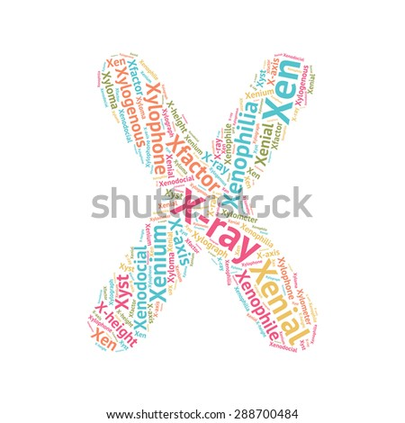Letter Word Starting With X Ending With A