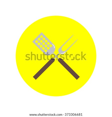 Cutters vector icon - stock vector