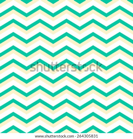 cyan chevron pattern background seamless - stock vector