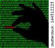 Cybercrime - stock vector