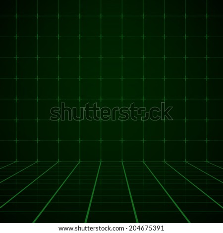 Cyberspace background. Vector illustration. - stock vector