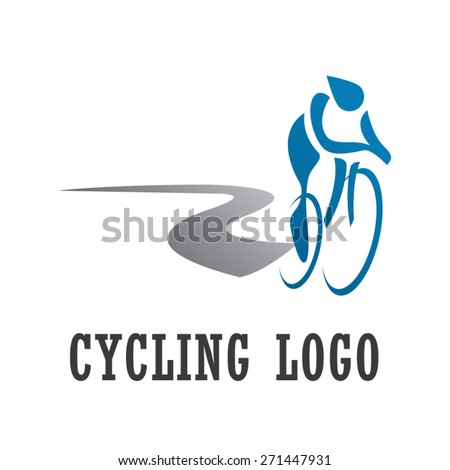 Cycling Logo - Cycle Sport Identity  - stock vector