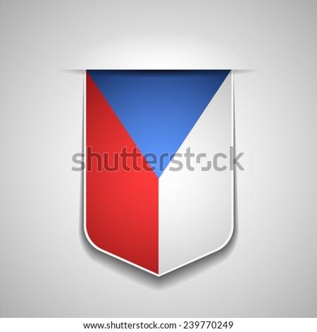 Czech - stock vector