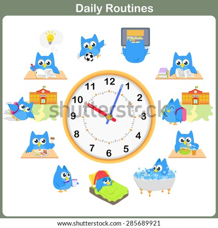 Daily Routine Stock Images, Royalty-Free Images & Vectors ...